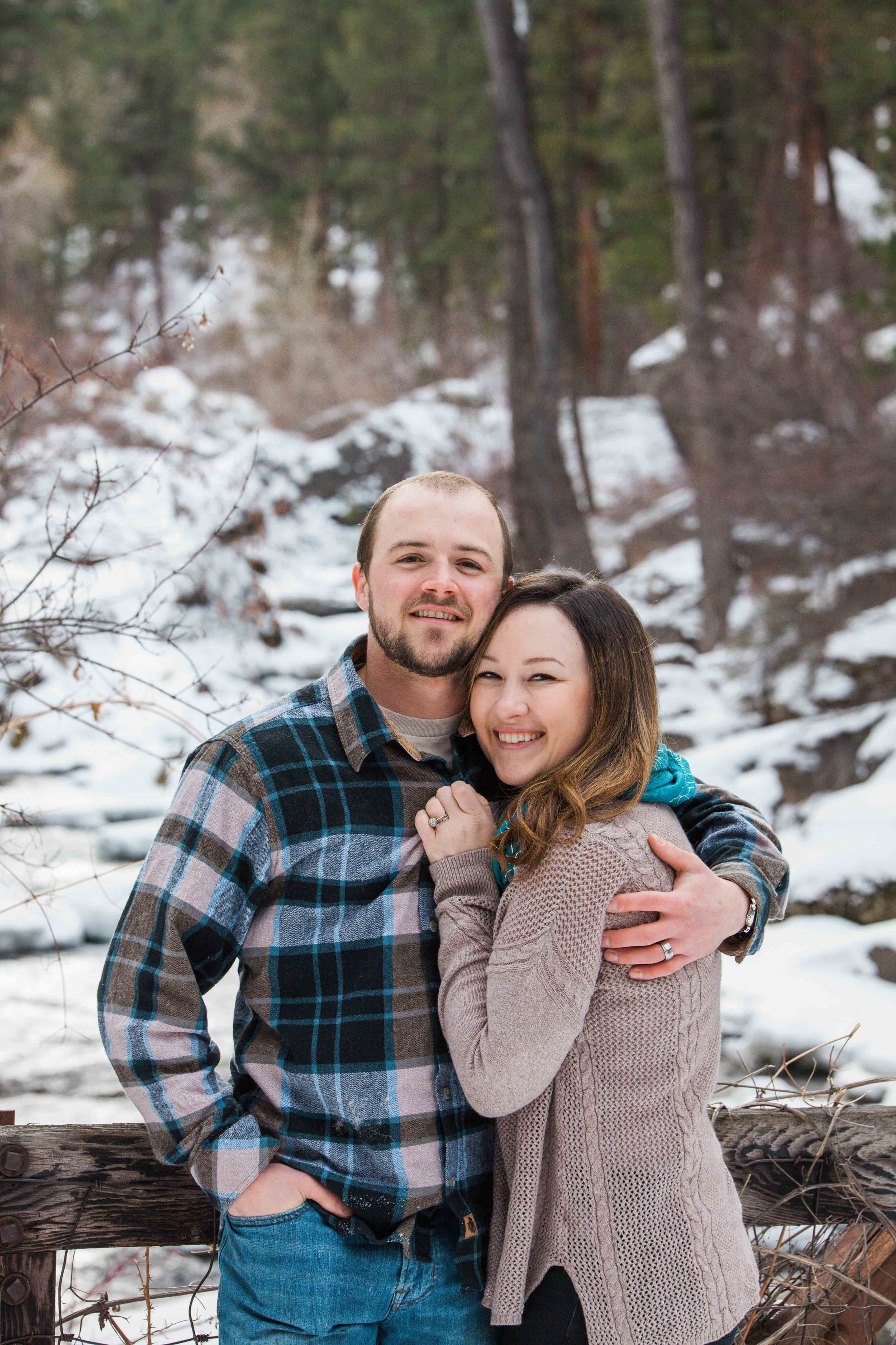 Jessie & Matt - Valentine's Day Photos - Sheridan Wyoming