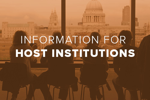 A link to information for prospective host institutions