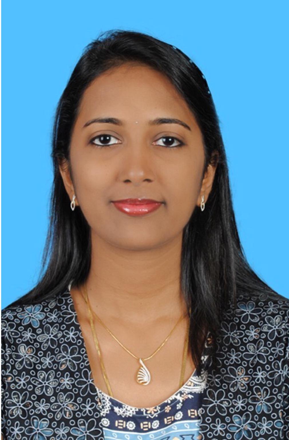 Dr. T. Vandhana - Practice at Saudi Arabia
