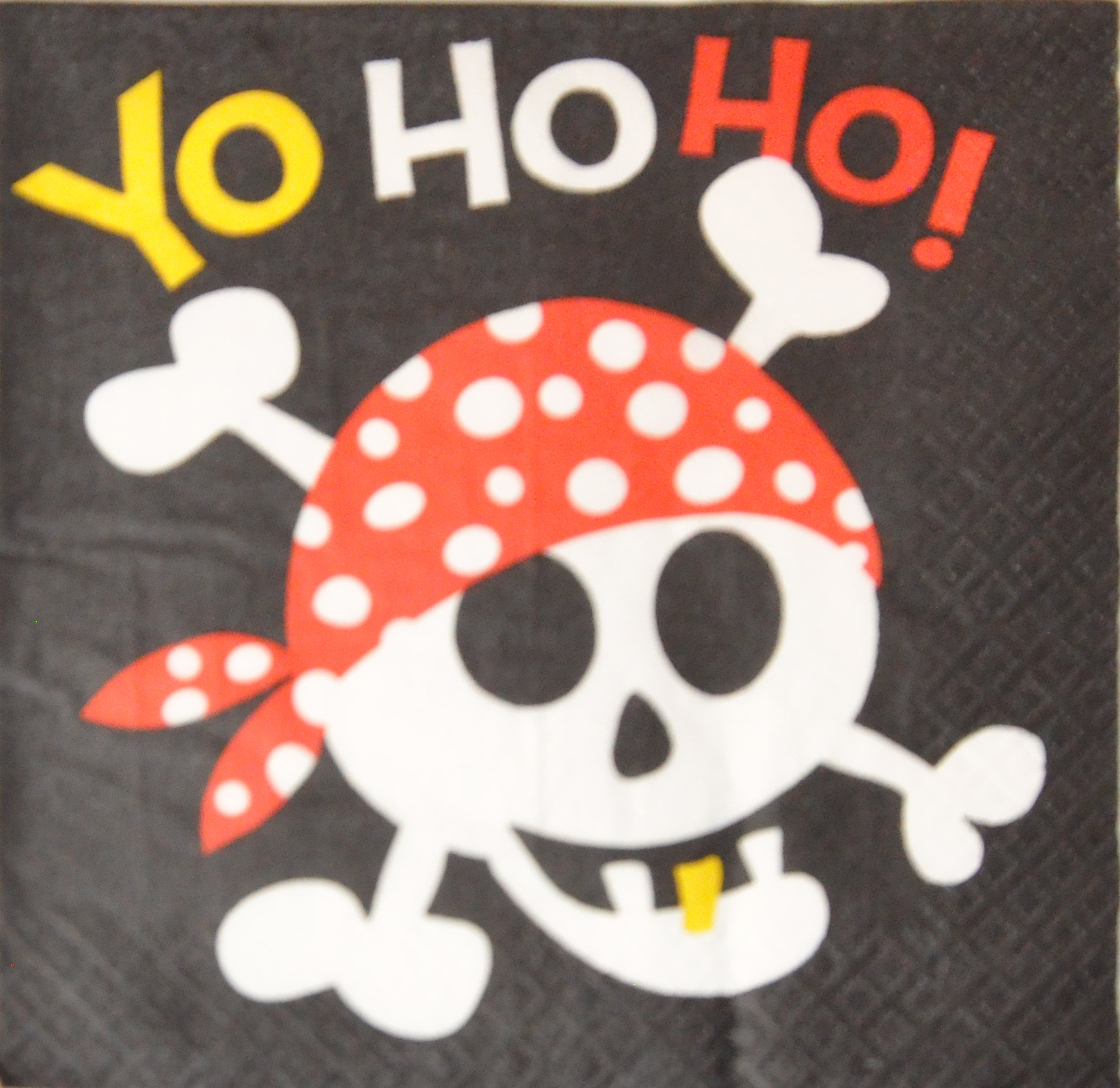 Pirate Napkin