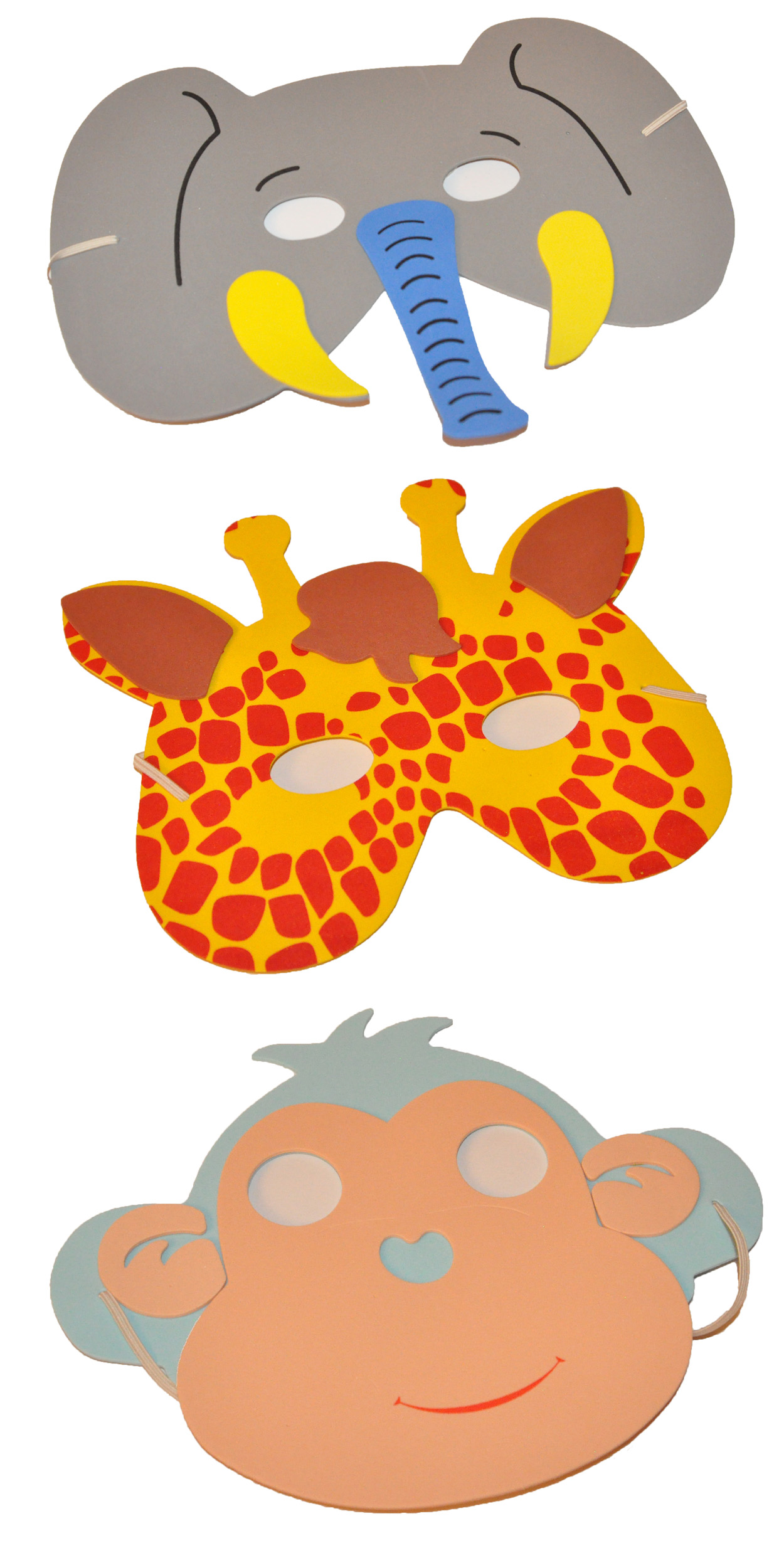 Varied Animal Masks