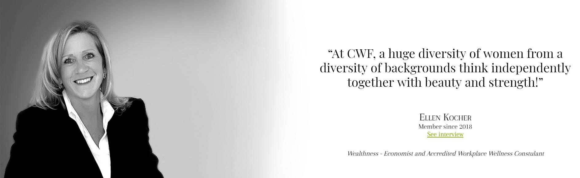 INTERVIEWCareer Women's Forum - READ HERE CWF Geneva