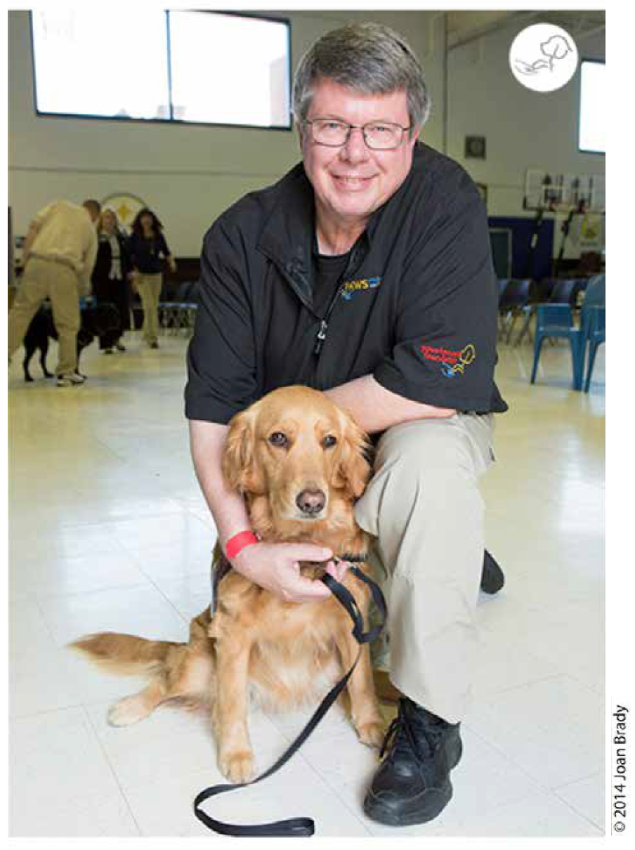 - Terry began training dogs over forty years ago. His early focus was with German Shepherds and advanced obedience training. In the late 1990s he was introduced to Golden Retrievers and quickly fell in love with the breed. Terry served in the Military from 1972 to 1977 and from 1979 to 1987. Since his discharge, Terry has battled the symptoms of Complex/ChronicPost Traumatic Stress (CPTS) and Moral Injury. In 1999, he began training his own Psychiatric Medical Alert Assistance Dog to help mitigate his CPTS symptoms. From 2002 to 2006, Terry and his Assistance Dogs worked in several special needs classrooms, where he developed training protocols and methodologies for Assistance Dog utilization within the special education classroom environment. There, his Dogs worked with hundreds of special needs students, helping them to exceed their Individual Educational Plan requirements utilizinganimal-assisted instruction. In 2009, after a decade of training and working with his Psychiatric Medical Alert Assistance Dogs, he turned his attention to helping Veterans with PTS. He developed training protocols and methodologies wherein a Psychiatric Medical Alert Assistance Dog is used as an adjunct medical device that enables each Client to manage his or her PTS symptom set. Terry has supervised the placement of every paws4vets Psychiatric Medical Alert Assistance Dog with a Client since 2008. He has also expanded the utilization of this unique Psychiatric Medical Alert Assistance Dog/adjunct psychological therapeutic intervention application to other psychological diagnoses such as: Traumatic Brain Injury (TBI),Dissociative Amnesia (DA), Dissociative Identity Disorder (DID), and most importantly, PTS resulting from Sexual Trauma (ST). Terry was honored as ION TV's Everyday Hero in 2015; and was awarded the Order of the Long Leaf Pine award in 2016.
