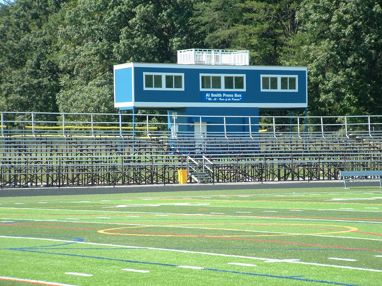 OMHS Press Box - After