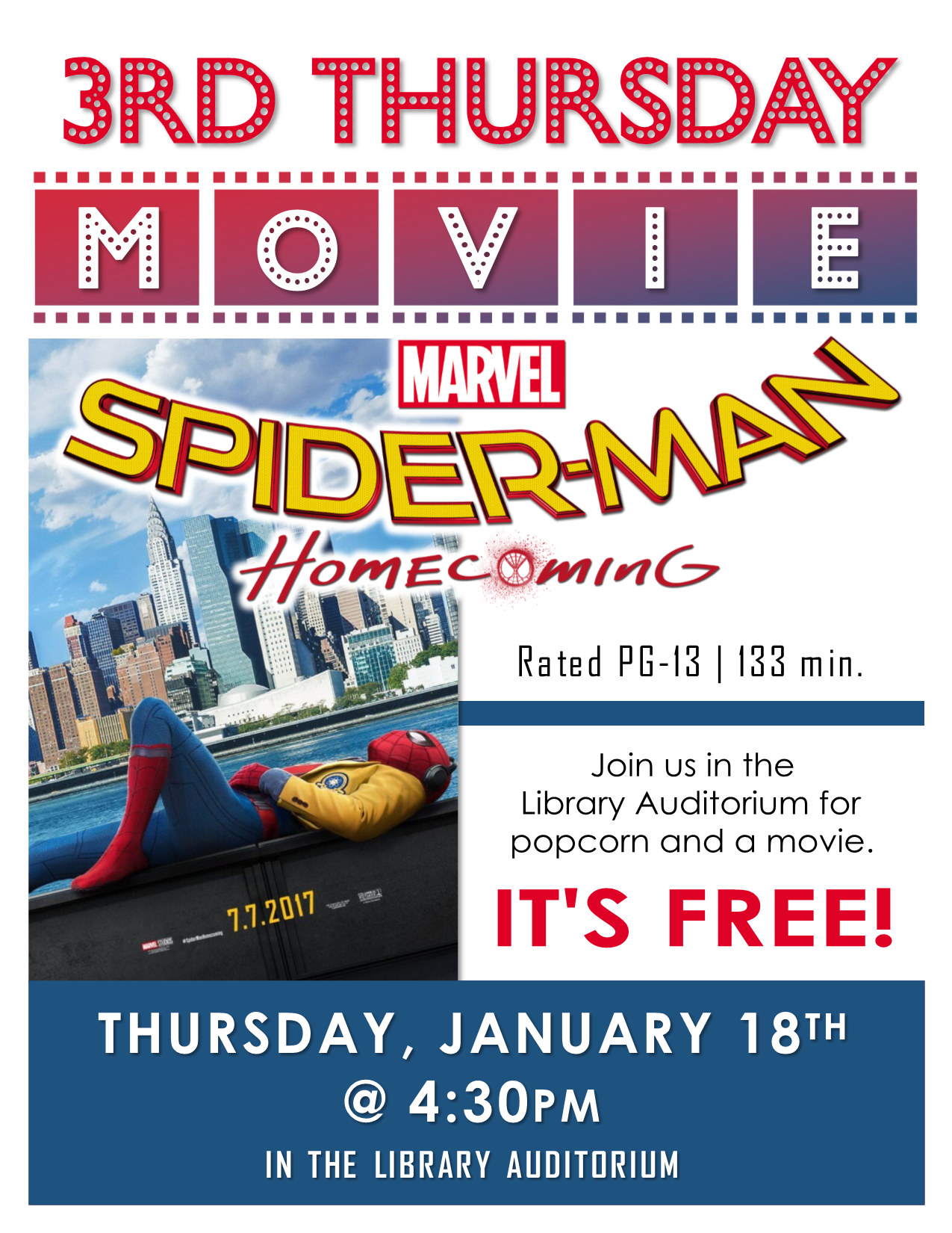 3rd Thursday Movie - Spiderman Homecoming.png