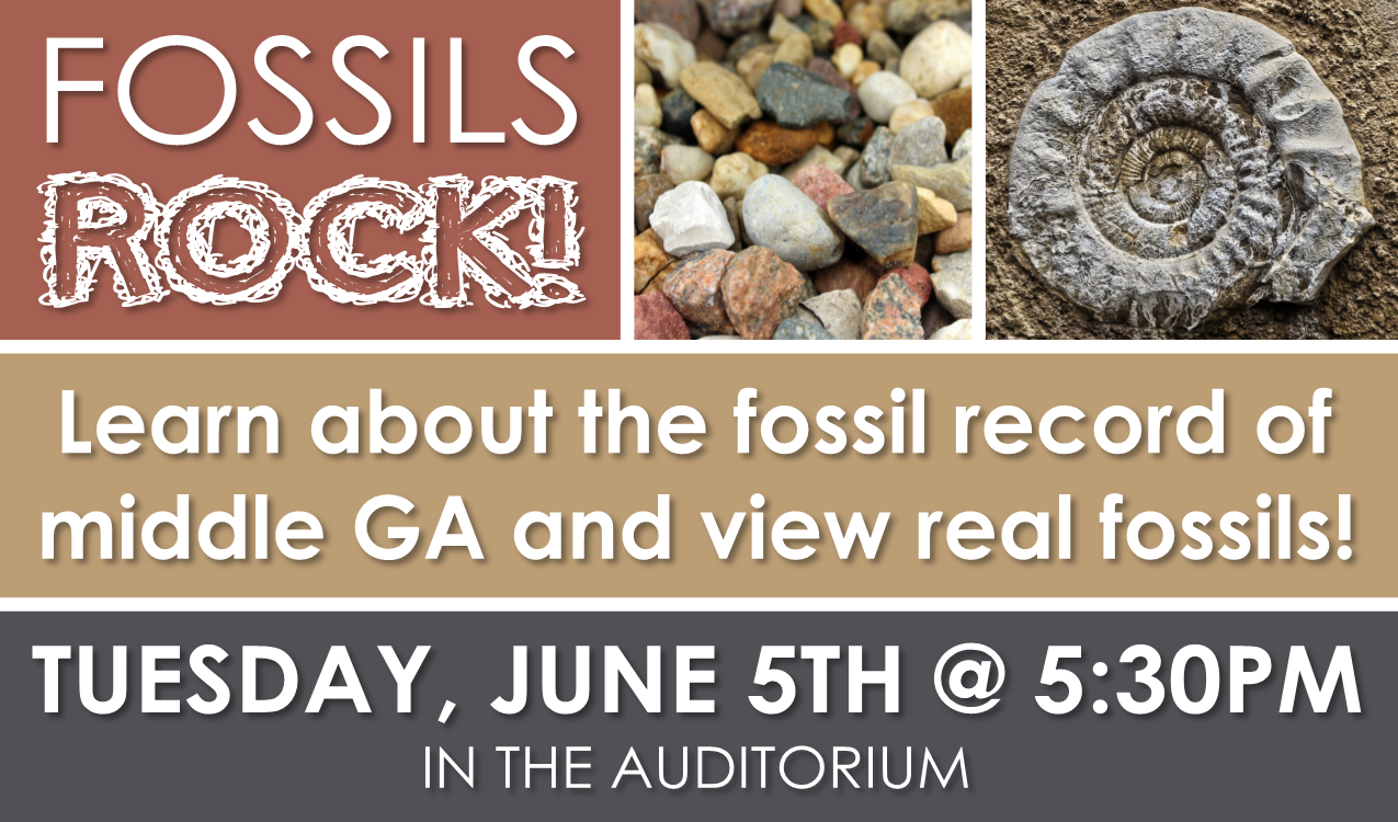 Hosted by amateur paleontologists Thomas Thurman and Hank Josey!   www.georgiasfossils.com   This program is intended for teens and adults.
