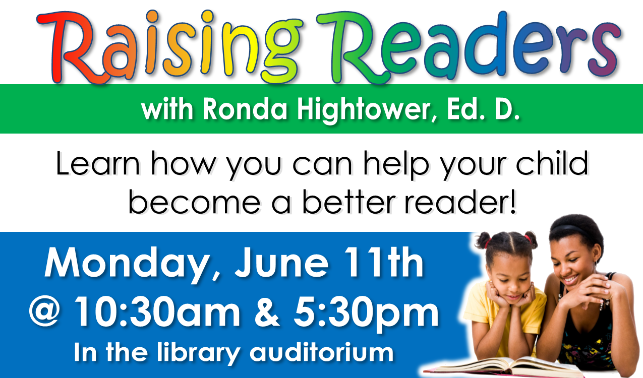 Obtain the knowledge and tools needed to help your child become a better reader and achieve academic success!