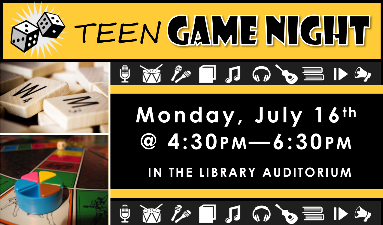 Join us for some classic gaming including board, card, dice and more!