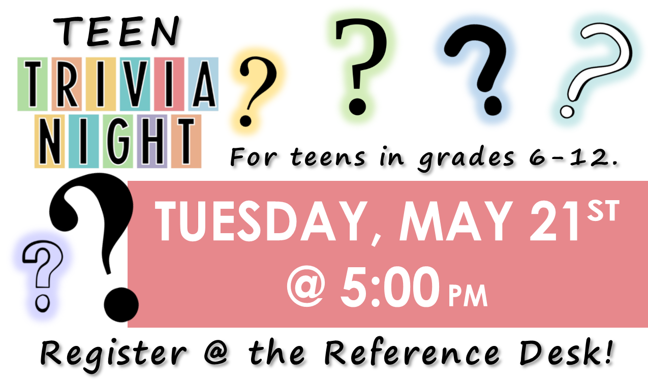 Test your knowledge of various topics! You could win a prize!