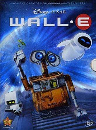 The 2008 animated family adventure about a small robot's journey to save mankind. Rated G, 2 hrs. 18min.