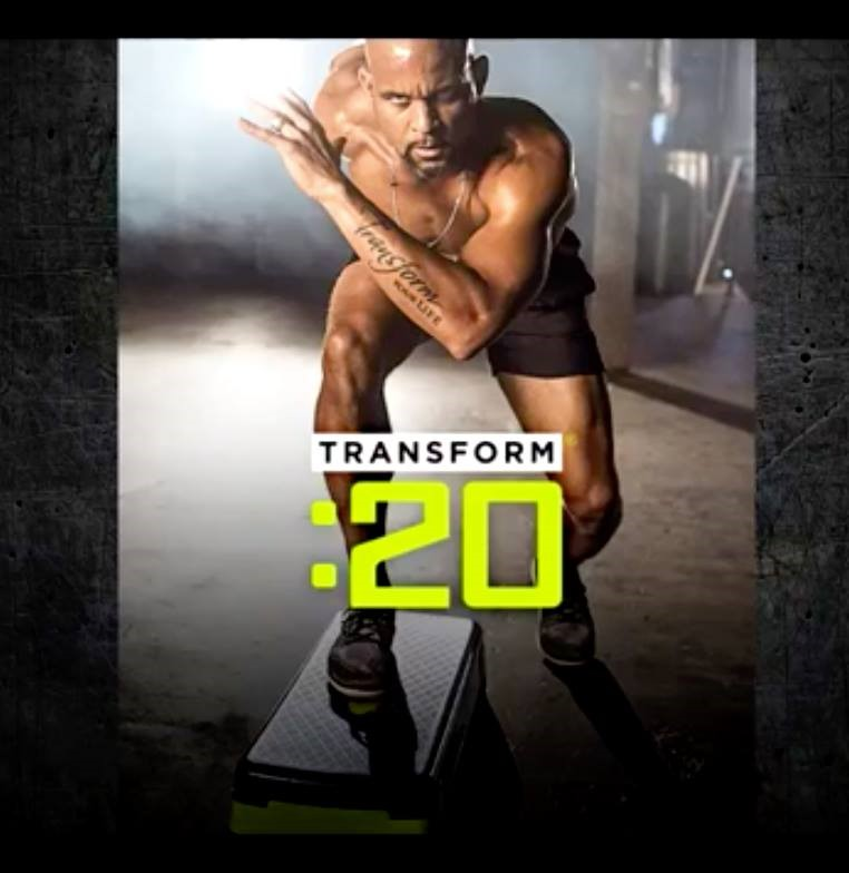 Step up to the challenge and radically transform your body and mind with Shaun T's Transform :20 - a 6 week, 20 minutes-a day fat burning workout to truly start the year off with a transformation - both physical and emotional.