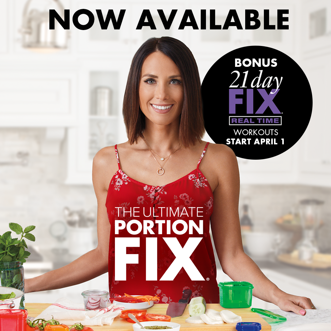 Ultimate Portion Fix is the expansion of one of the most successful weight-loss programs at Beachbody®. This 30-day video-based program from creator Autumn Calabrese will teach you how to use color-coded, portion-control containers to take the guesswork out of eating delicious, perfectly sized meals, every time. Ultimate Portion Fix isn't a diet— you can still eat the foods you love, including snacks and desserts. It includes over 300 recipes, comprehensive food lists, and ways the whole family can get involved in making healthier decisions. !