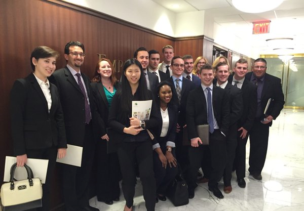 WIVF Interns at EMpore Wealth Strategies