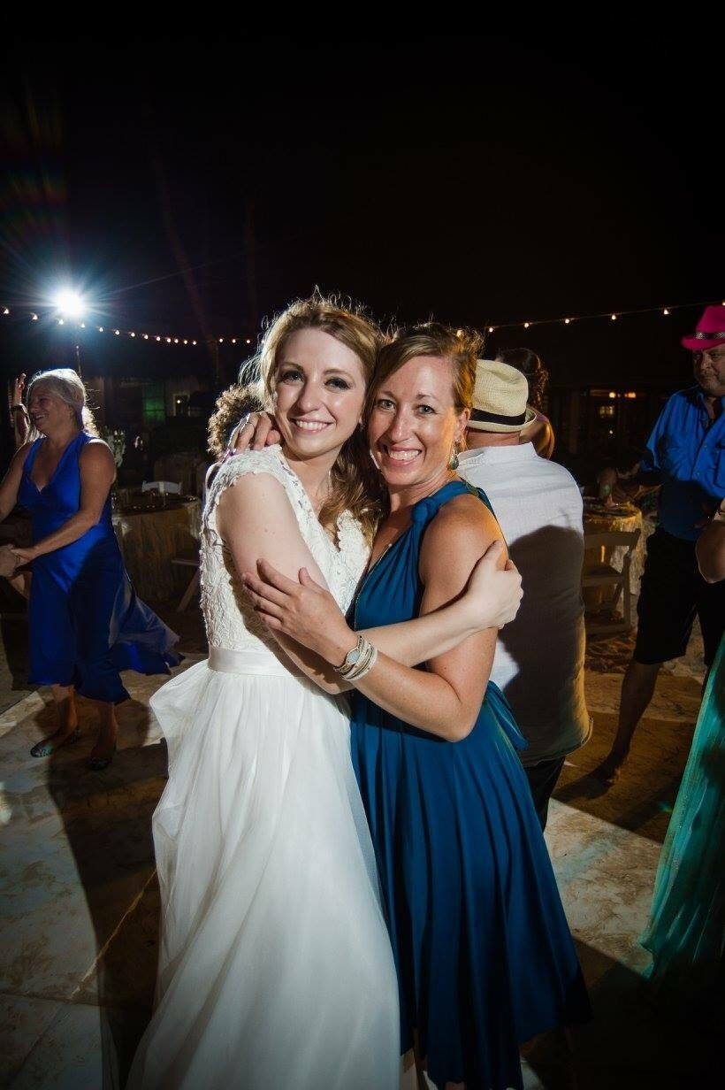 Celebrating Christine's Wedding