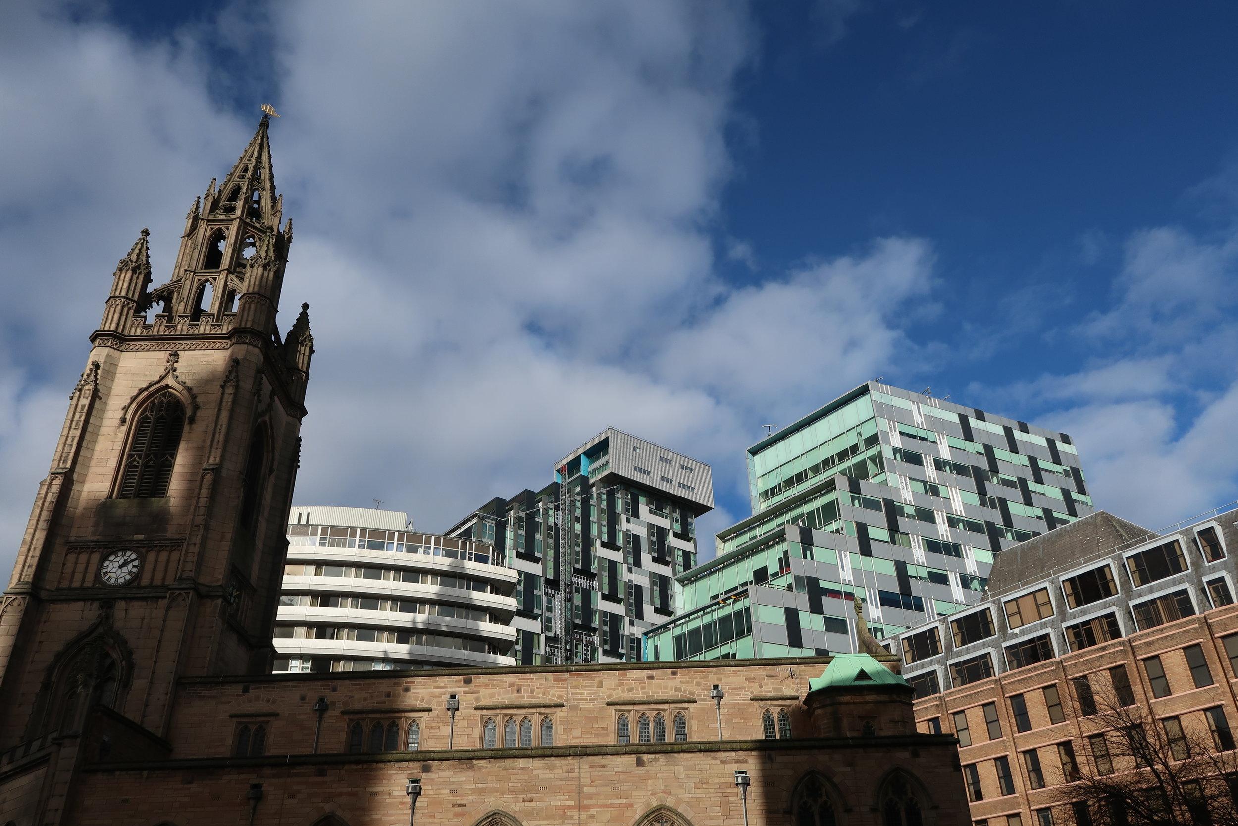 Church & Skyline