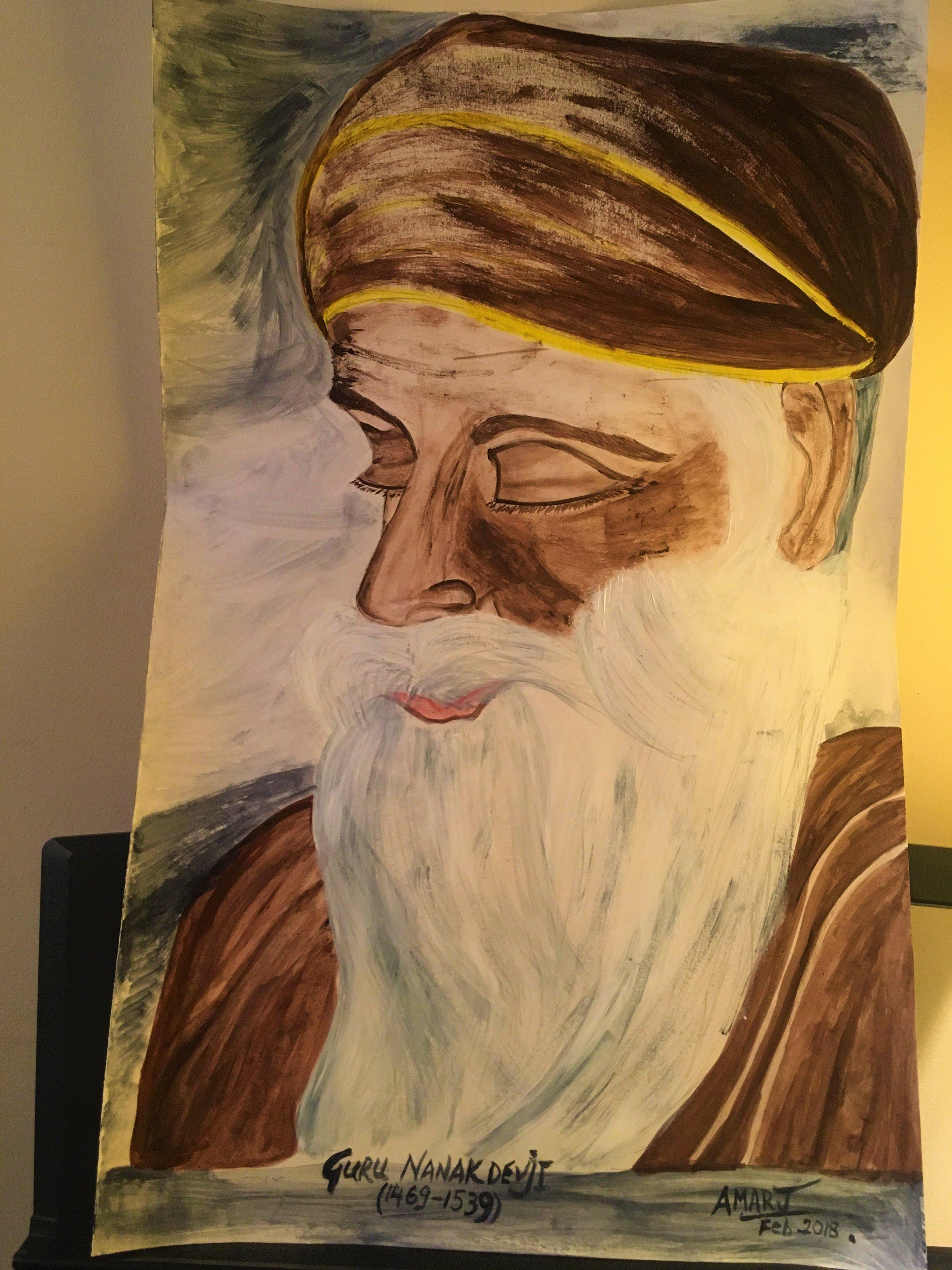 painting GURU NANAK DEVJI