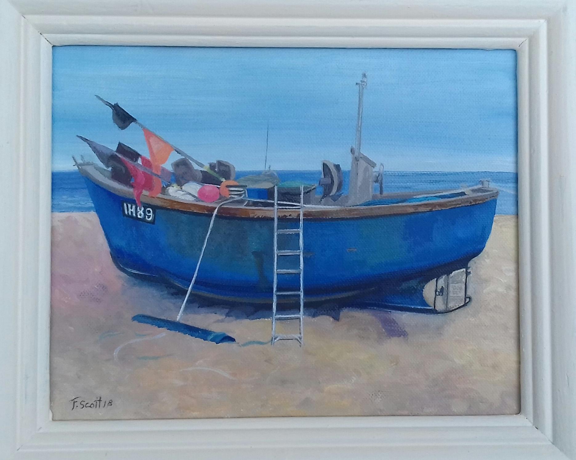 Blue Boat, Aldeburgh