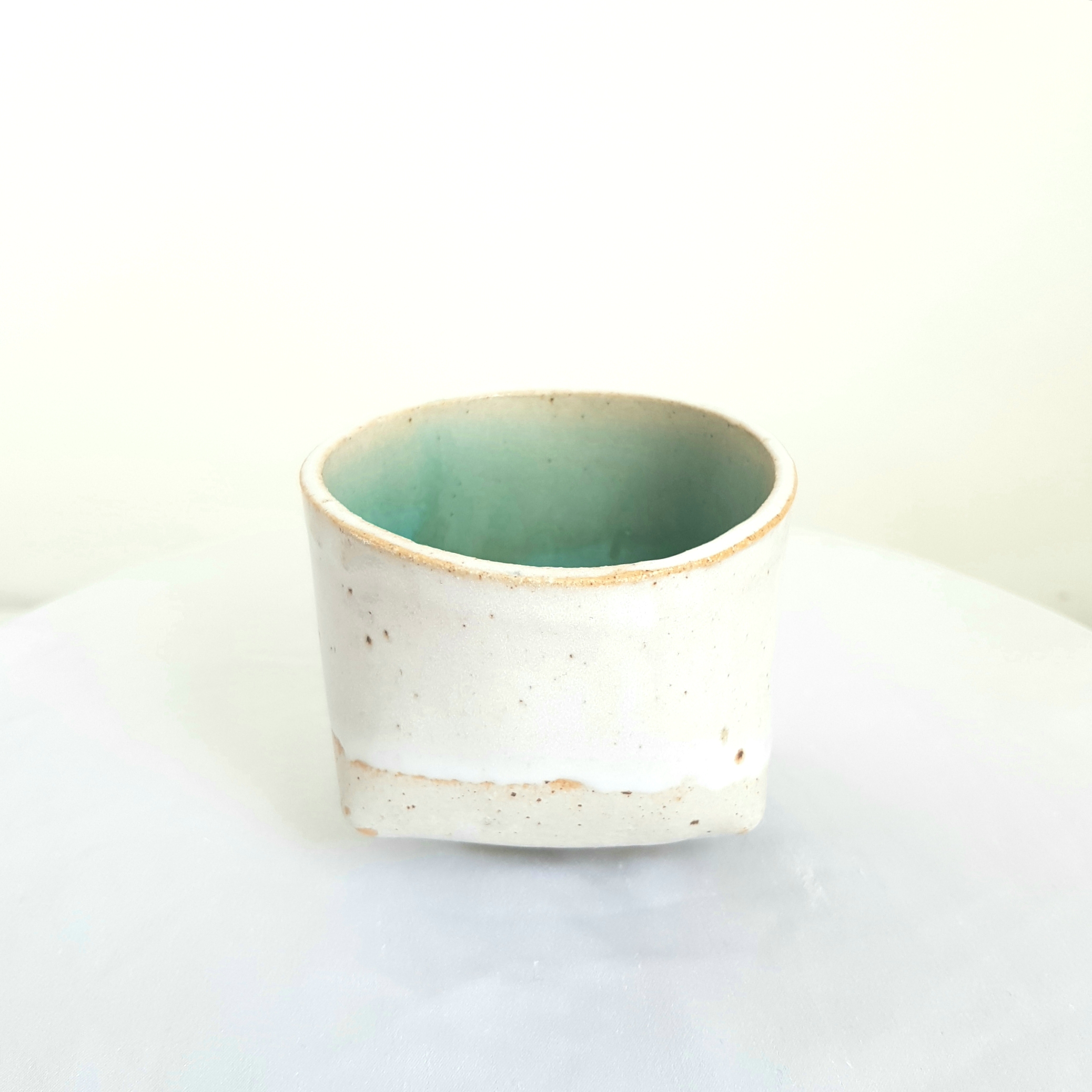Jade and White Cup