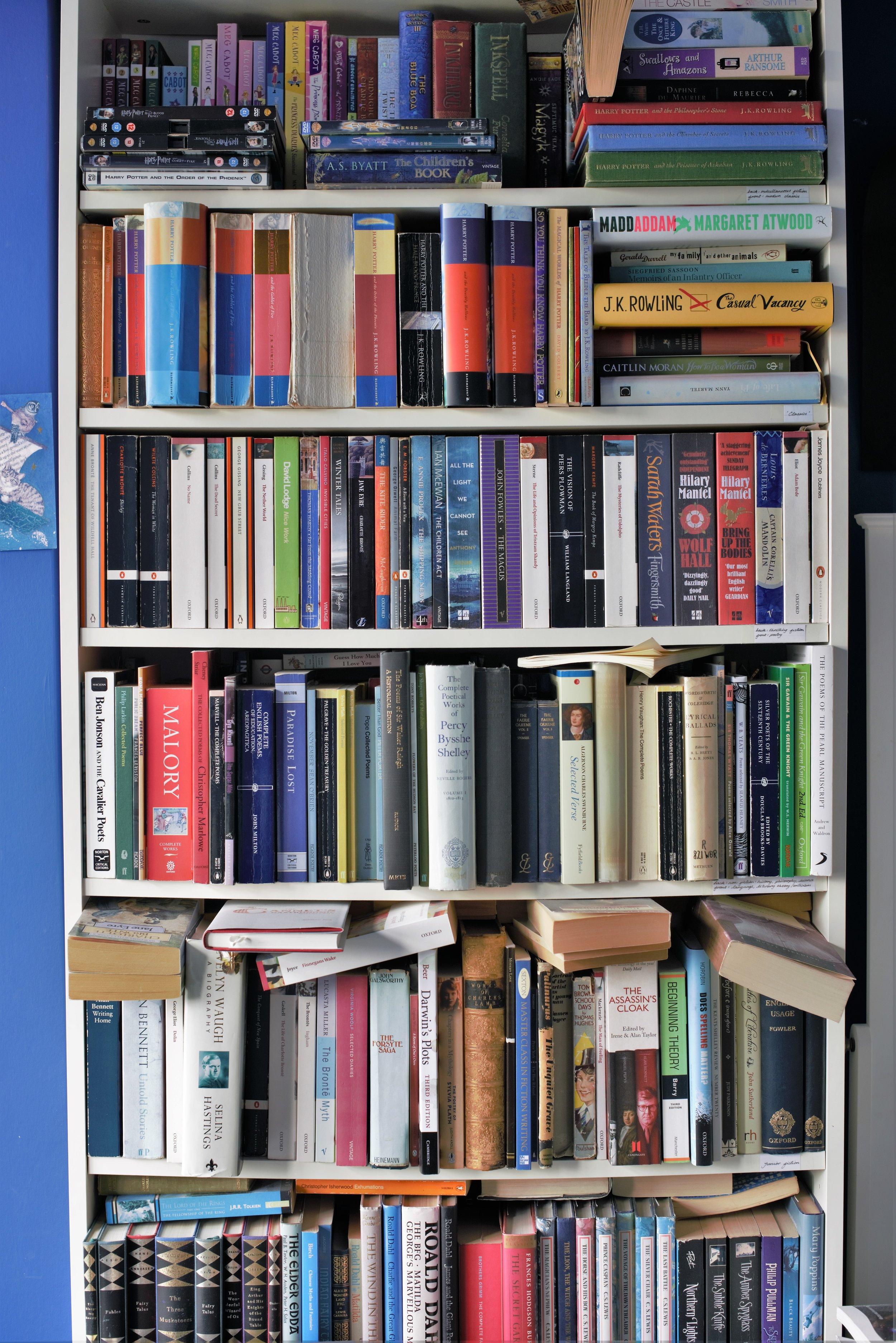 The Bookshelf project