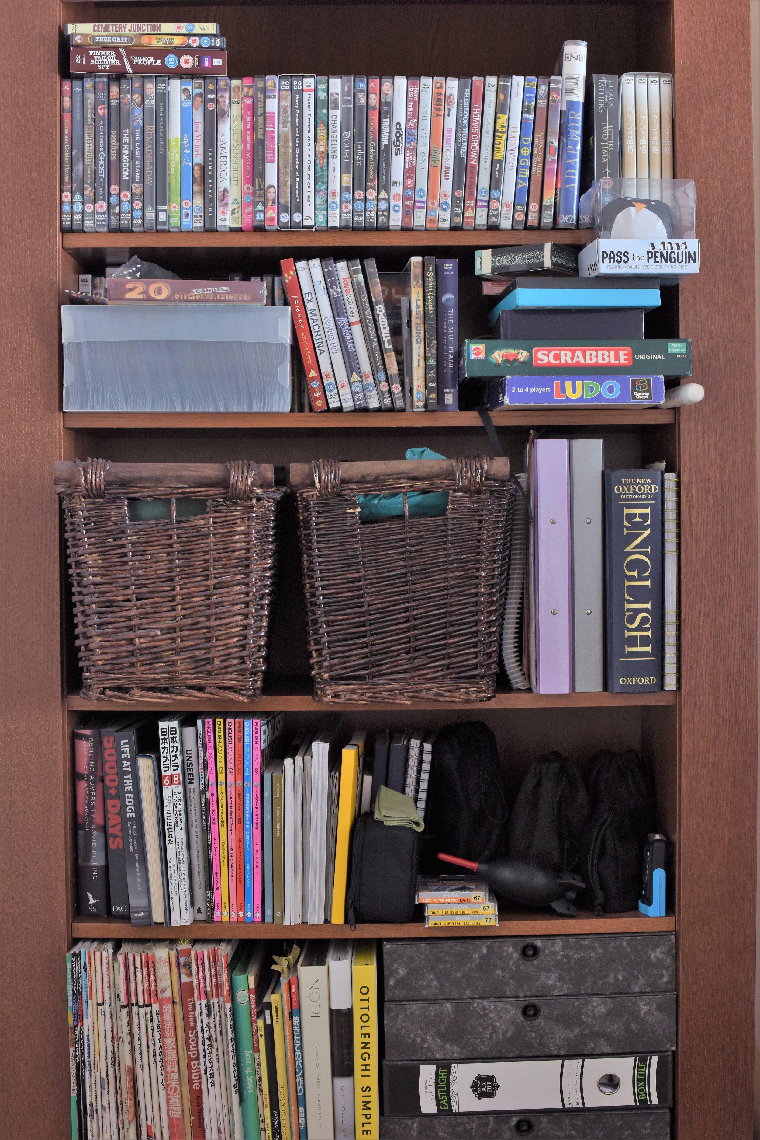 The Bookshelf project 2