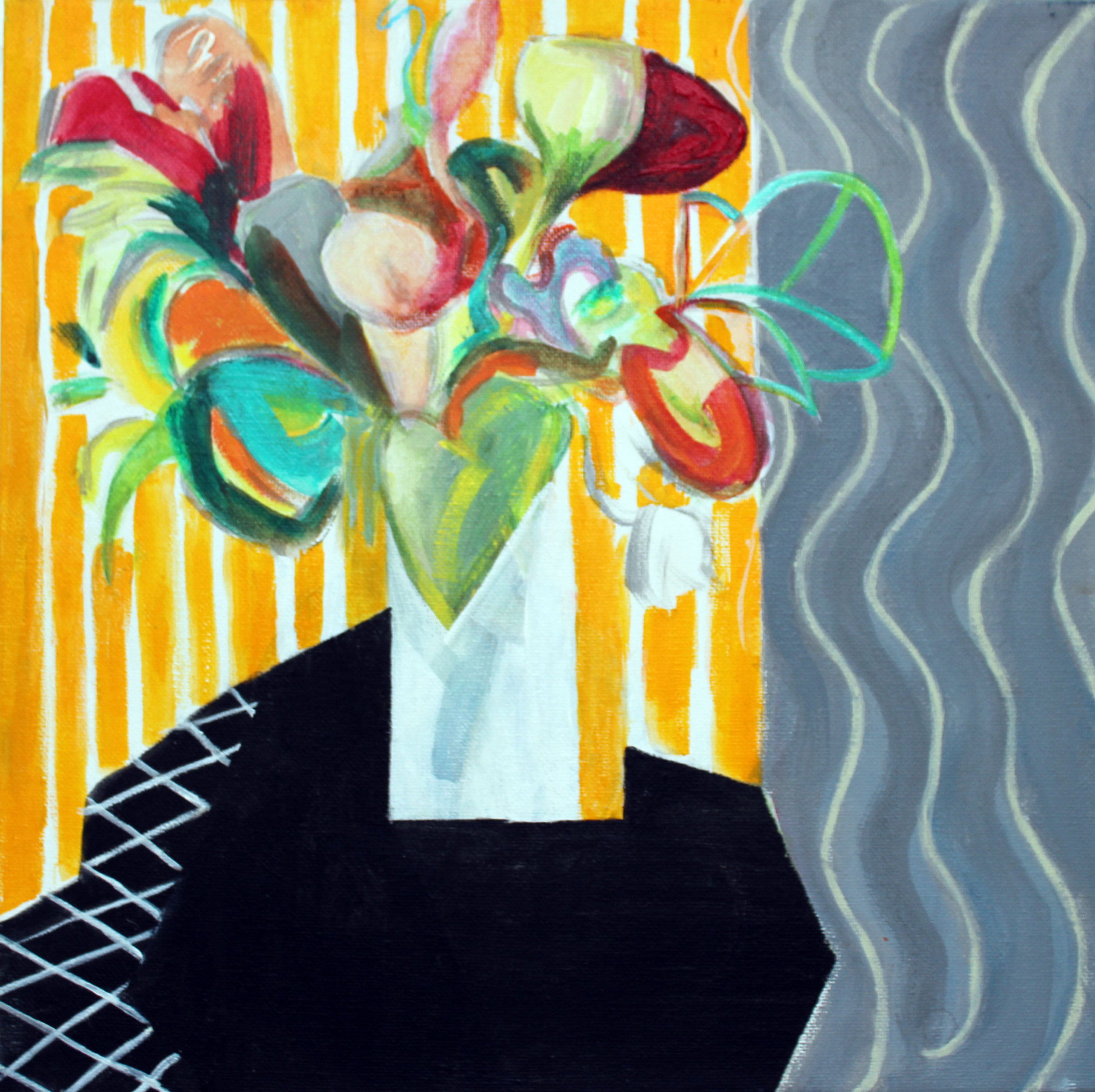 "Lesley Bower SGFA ""Spring Flowers"""