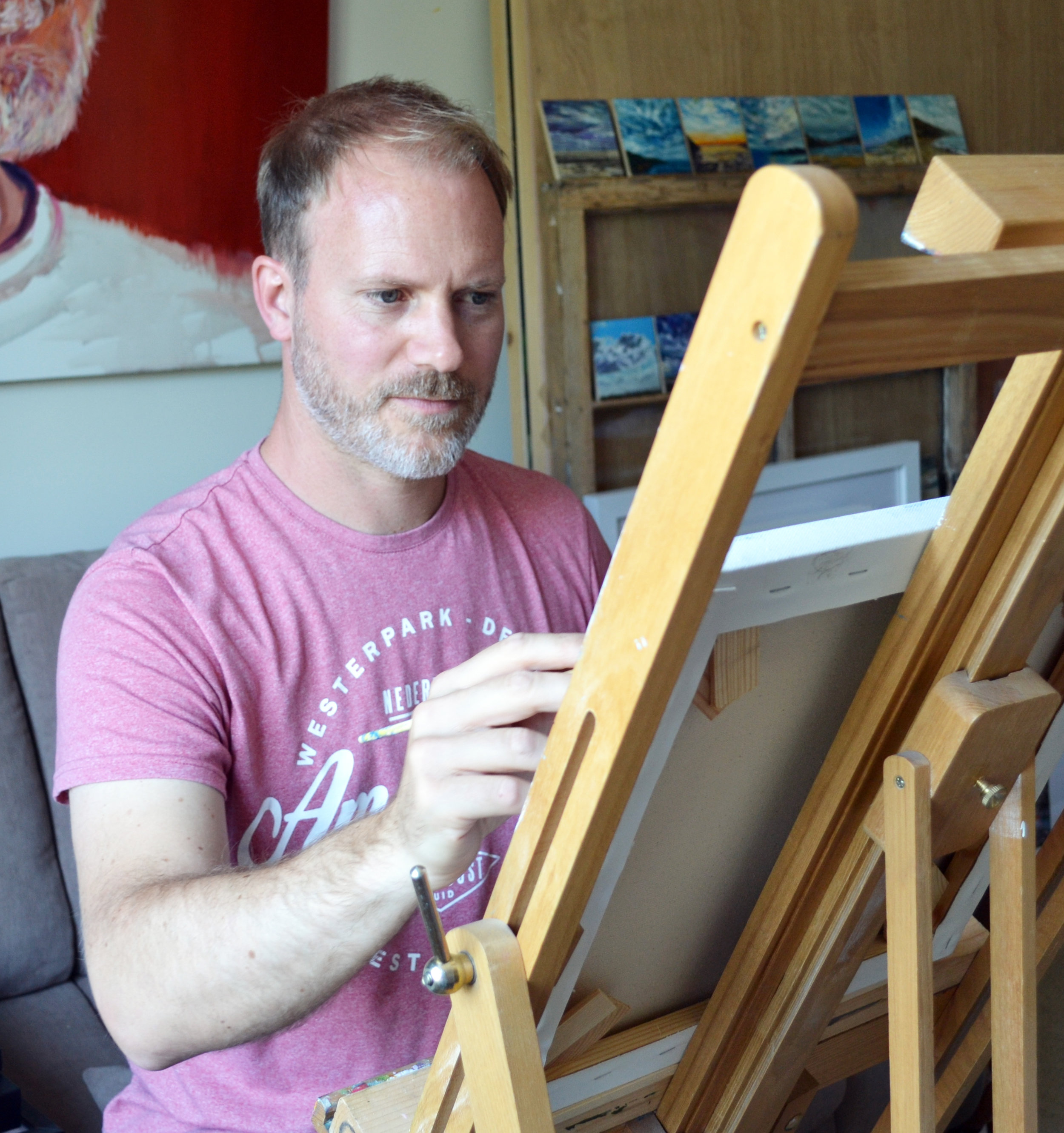 Alex Ebdon, Painter