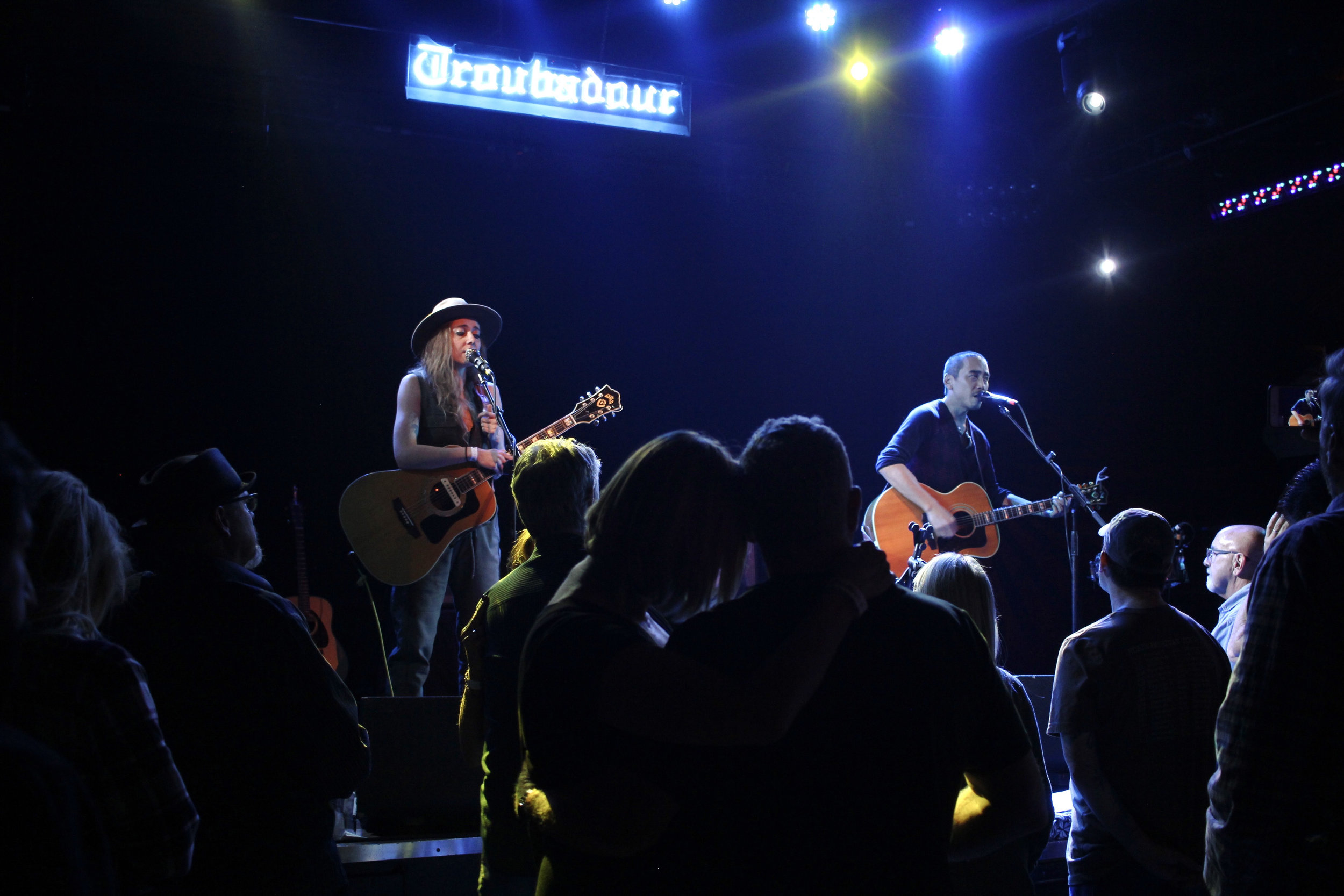 Played the Troubadour with Megan Slankard! Photo by Karen Shih
