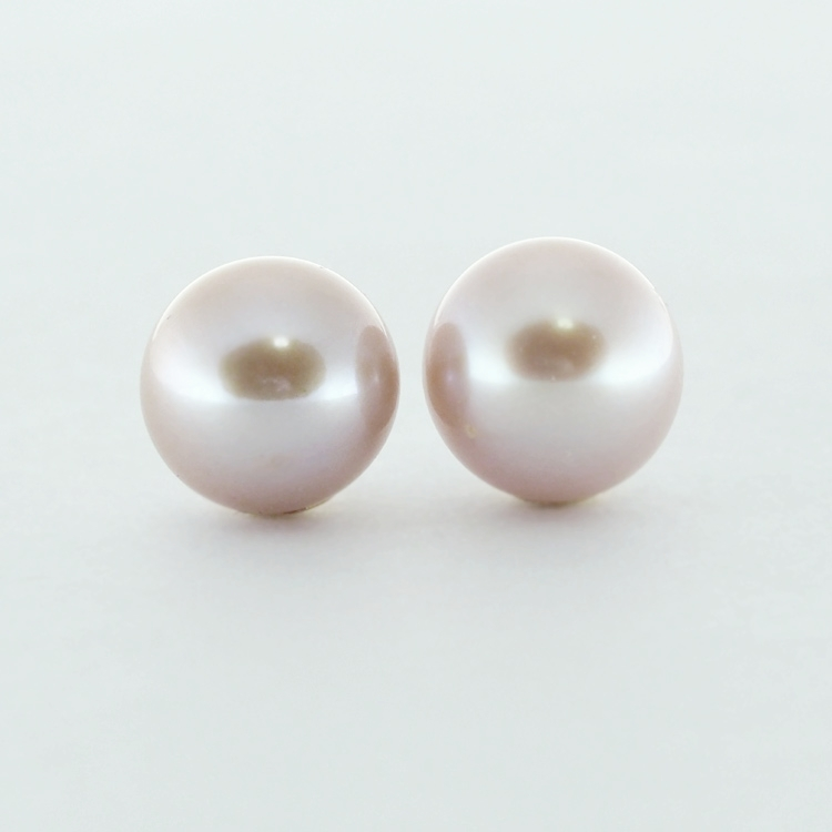 <b>Pink Pearls</b><br>$432<br>Fresh Water Pearls,<br> Pink Mauvé, <br>9.5-10mm <br>14K Yellow Gold