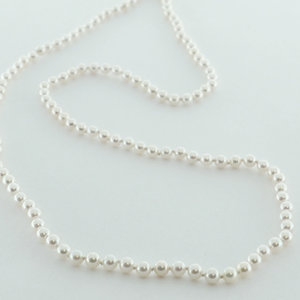 """<b>Cultured Pearl Necklace</b><Br>reg.RT: $9,587/Special: $7,250<Br>Rd. cultured Salt Water Pearls <Br>7.5-8mm<br>Dbl. Lengths 34"""", 106 Pearls"""