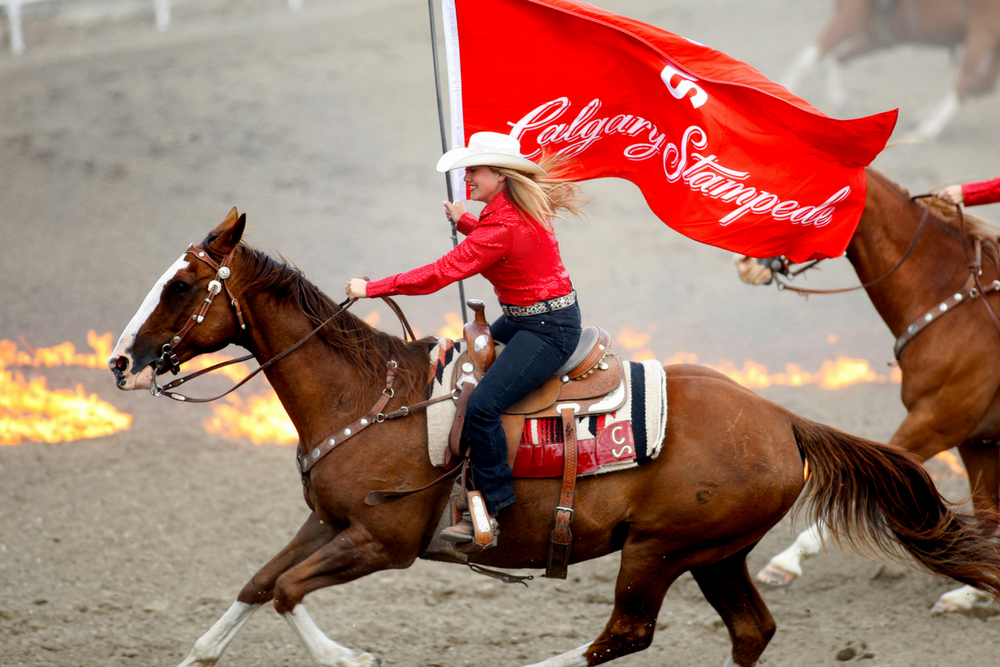 Calgary Stampede Rodeo for Two