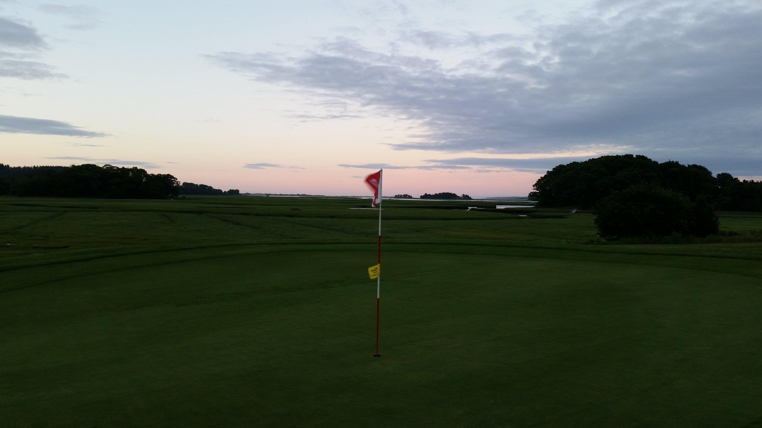 Cape Ann Golf Club, Essex, MA - 2016 Renovations to 1st Hole