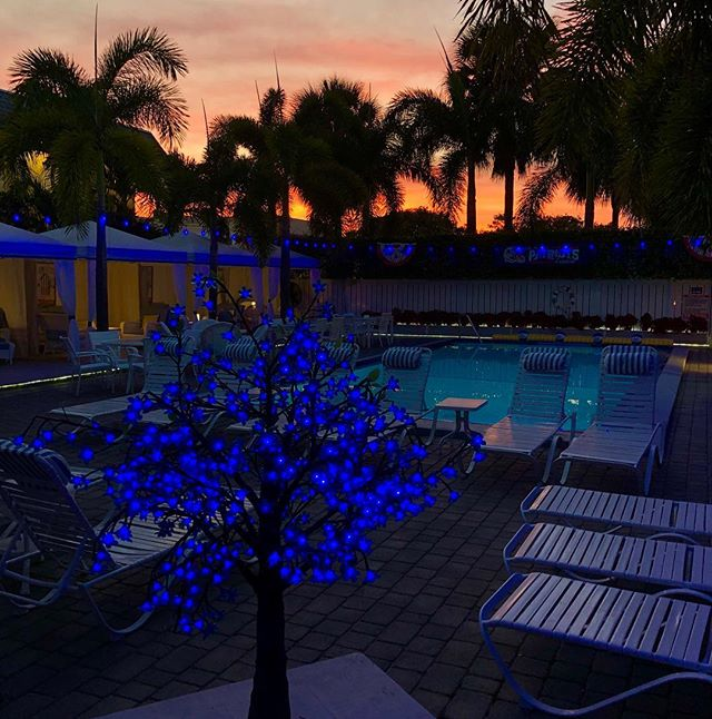 Florida sunsets #bvr #sunsets #florida #lbts #beach #poolside #beachlife #vacation