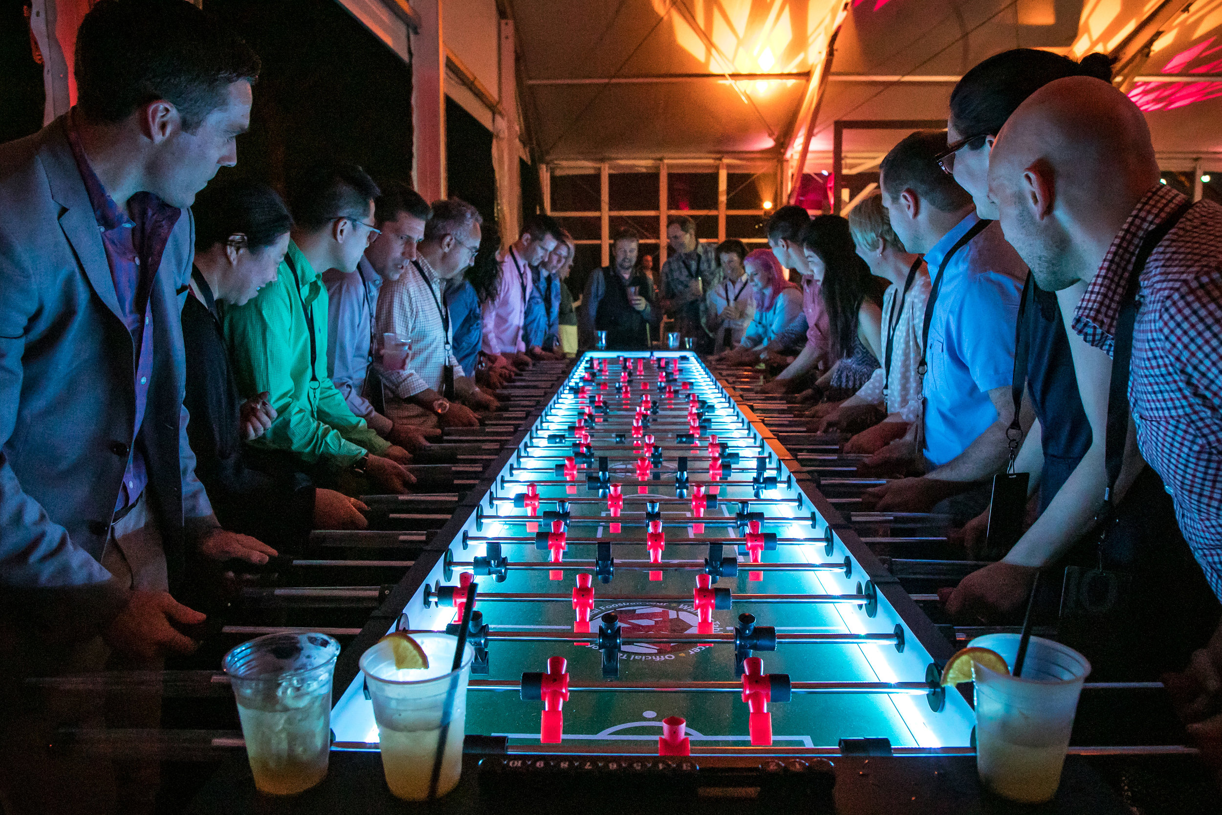 Giant Fooseball Table