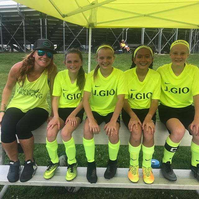 Great weekend with some of my favorite soccer players - Let the summer fun begin ⚽️💪 💫 #SummerSoccer #SoccerTournaments #TeamBonding #JGIO #girlssoccer #YouthSoccer #EDP