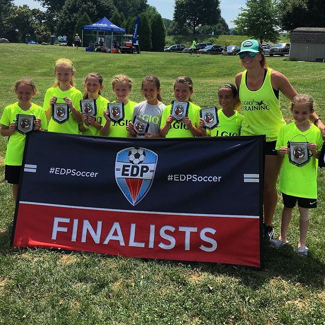 I think I'm going to have grey hair soon from all these intense stressful games, but the hard is what makes it Great. 💪 #LehighValley #100Degrees #GirlsSoccer #EdpSoccer #SecondPlace #SummerSoccer #JGIO