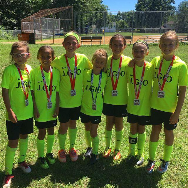 Great Day for 3v3 Soccer! ⚽️☀️💪 Thank you @pascosoccerclub @3v3live @kickit3v3soccer the girls had a blast! #3v3 #U7 #U9 #FirstPlace #JGIO #GirlsSoccer #SummerSoccer #NikeSoccer #Nike #LoveTheGame