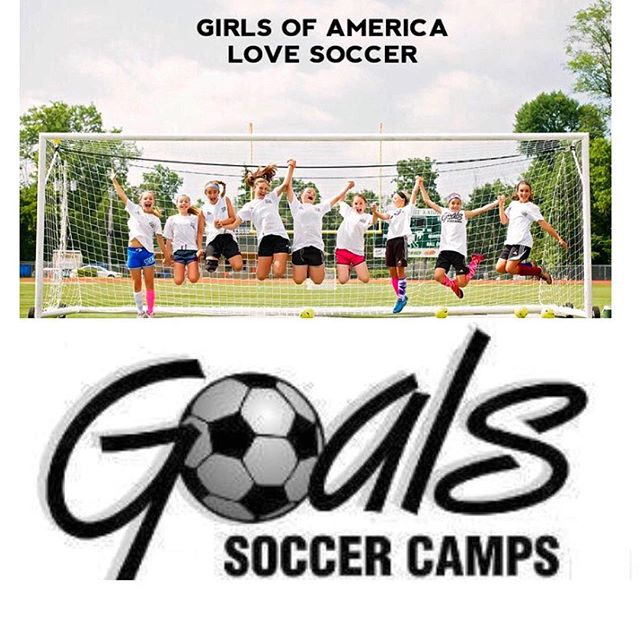 Follow @goalssoccercamp !! The best Soccer Camp of the Summer run by one of the best 💪 www.GoalsCamp.com #GirlsSoccer #SoccerTraining #YouthSoccer #Shooting #Games #Fitness #FootSkills #SoccerCamp #LoveTheGame
