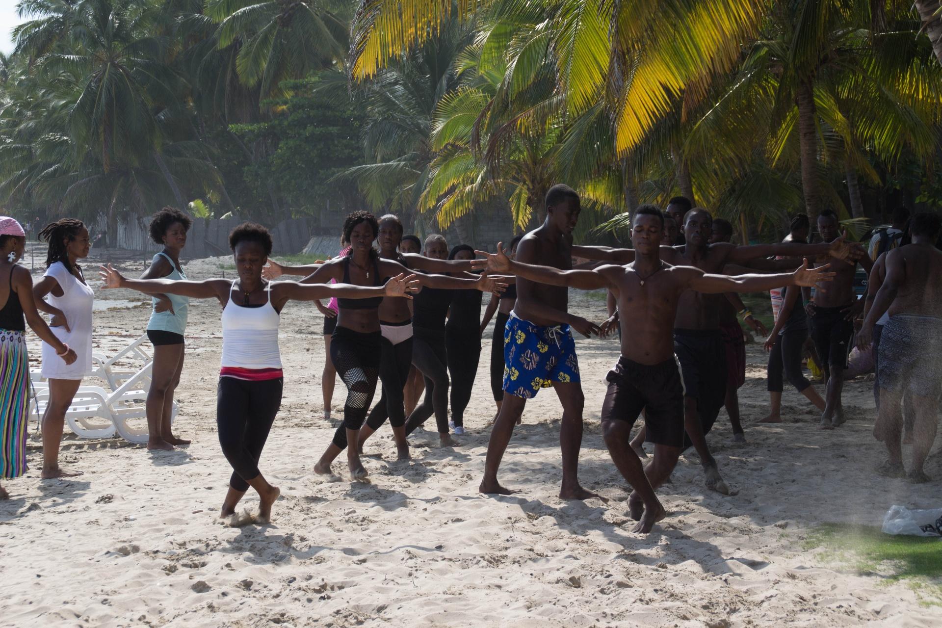 HaitiDansCo in Jacmel -  Vin Pran Baget Retreat