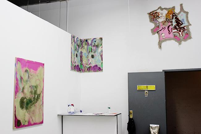 Dyeing, Merging, Multitasking, works by Siebren Versteeg and Mike Cloud