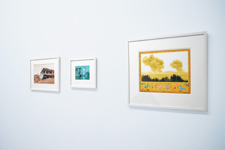 SUSANNE SLAVICK: Restoration (Threshold 1), 2006, Restore (Sarafiya Star over the Tigris), 2006, and Reveal: Pastoral with Flora and Fauna, 2007