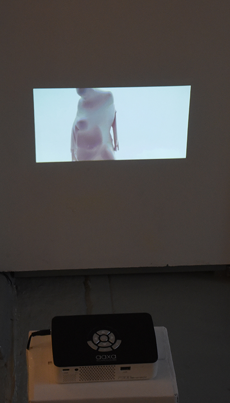 CATHERINE CARTWRIGHT: Skin, 2016 Single channel video, 10 Minutes