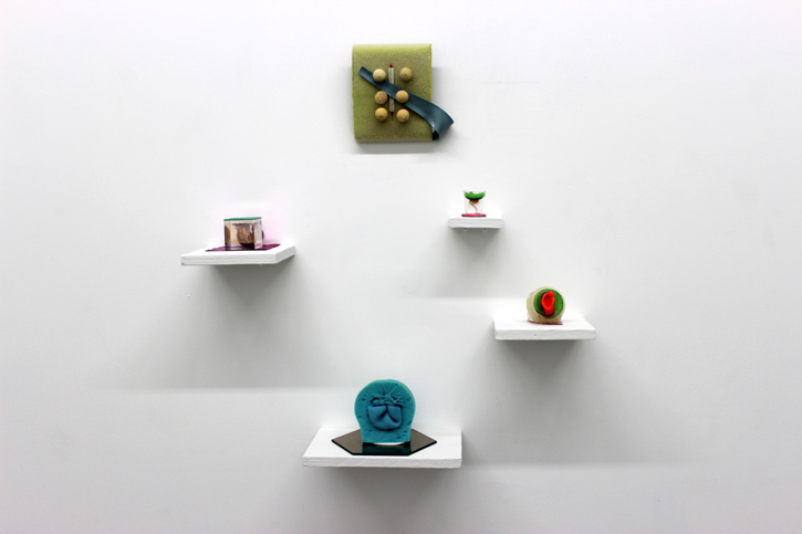 EMILY JANOWICK: Tit Rose, Pea Pod (Growing Down I), Pussy Footin', Passenger, Cave Animals (Growing Down II), 2013