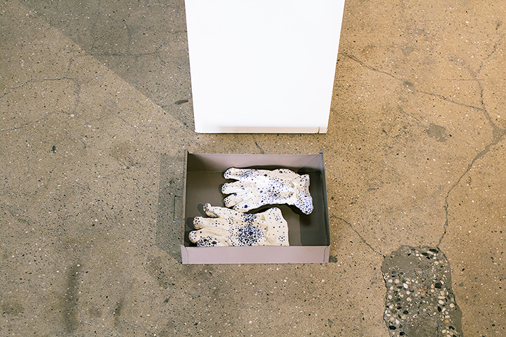 KEVIN CURRAN: Work Gloves, 2014.