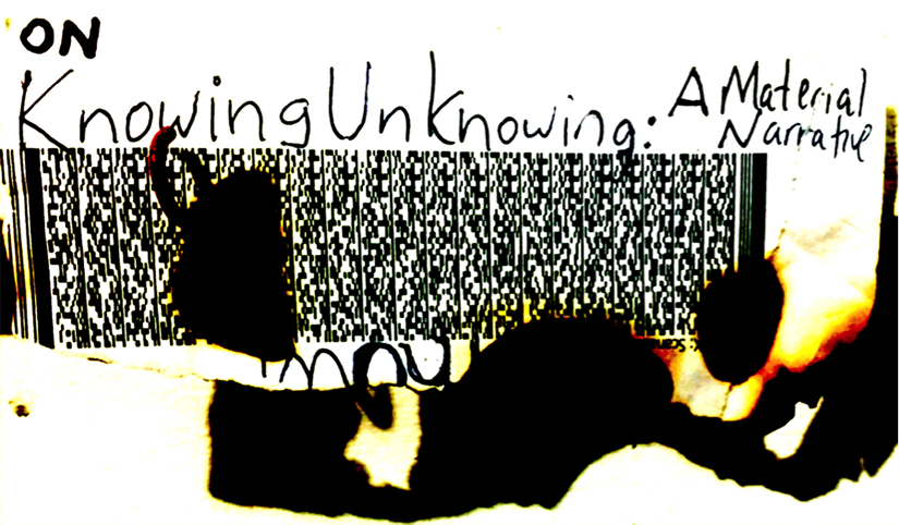 October 1 – 30, 2016    On Knowing Unknowing: A Material Narrative   Nancy Azara, Yevgeny Fiks, Maia Cruz Palileo, Sun You