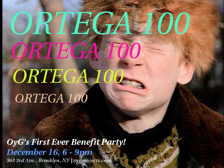 December 16, 2016    Ortega 100 Benefit Party