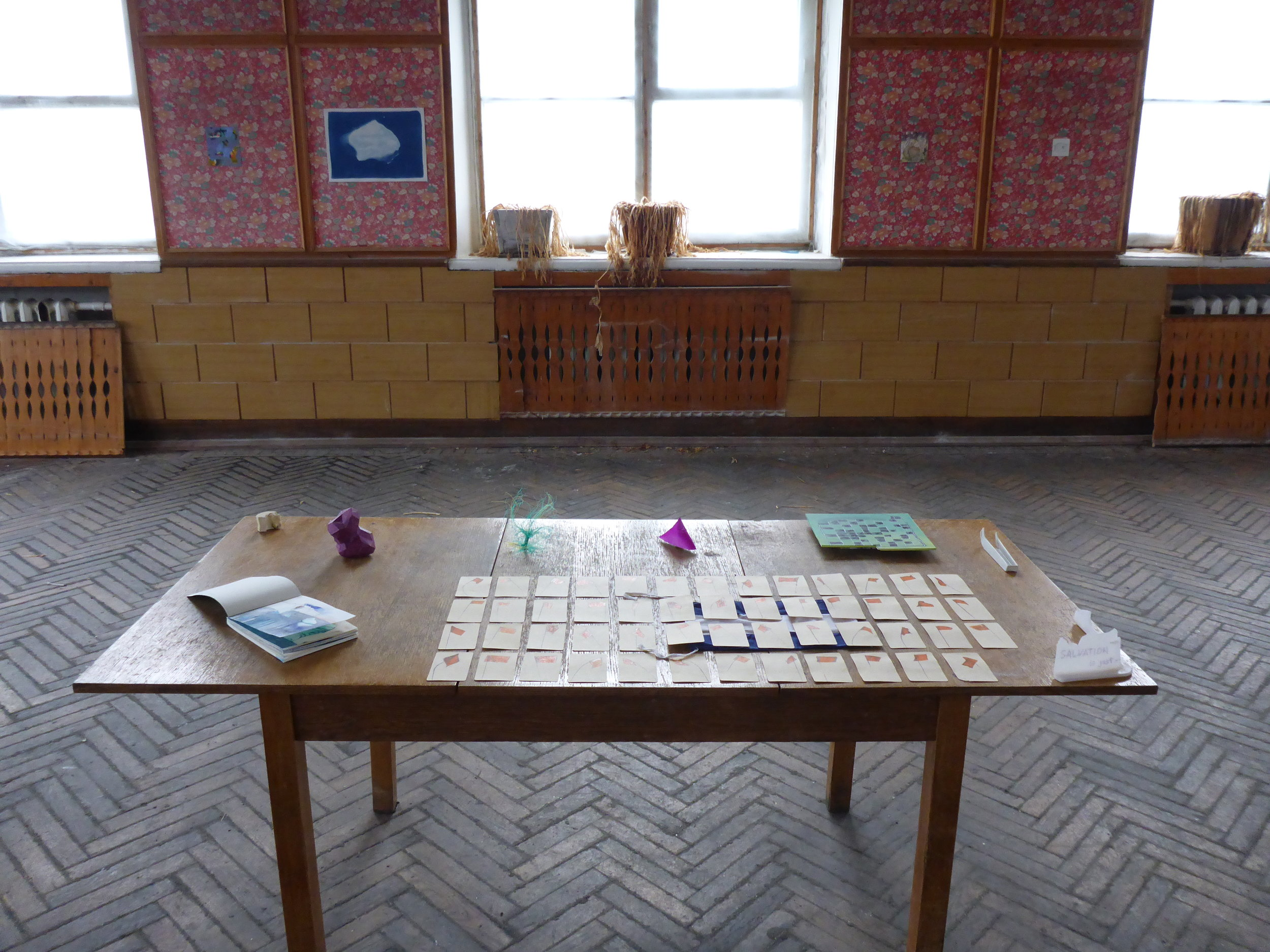 Pyramiden Canteen, Svalbard, Norway, July 2016