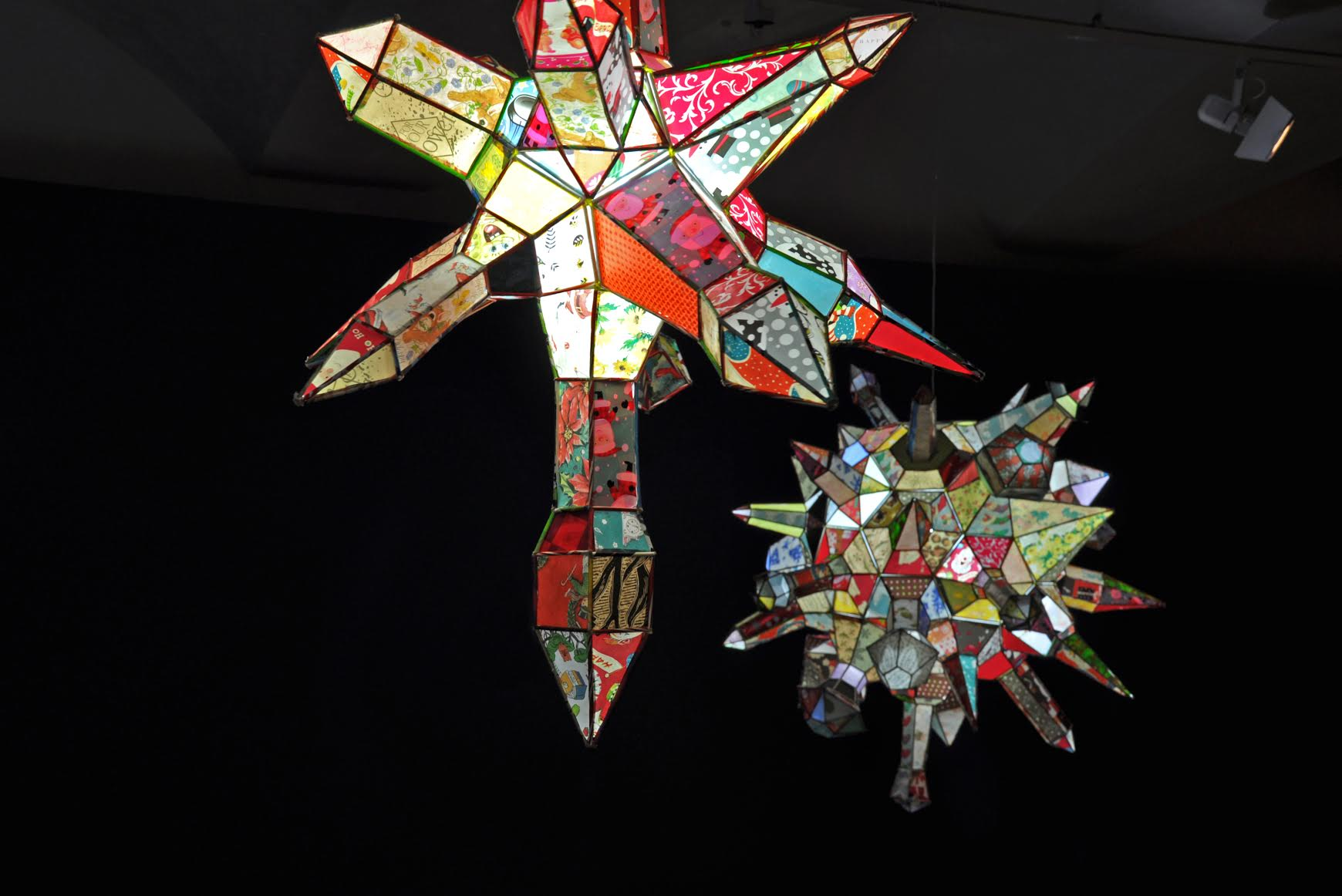 KIRSTEN HASSENFELD: Star Upon Star, 2011, paper with mixed media