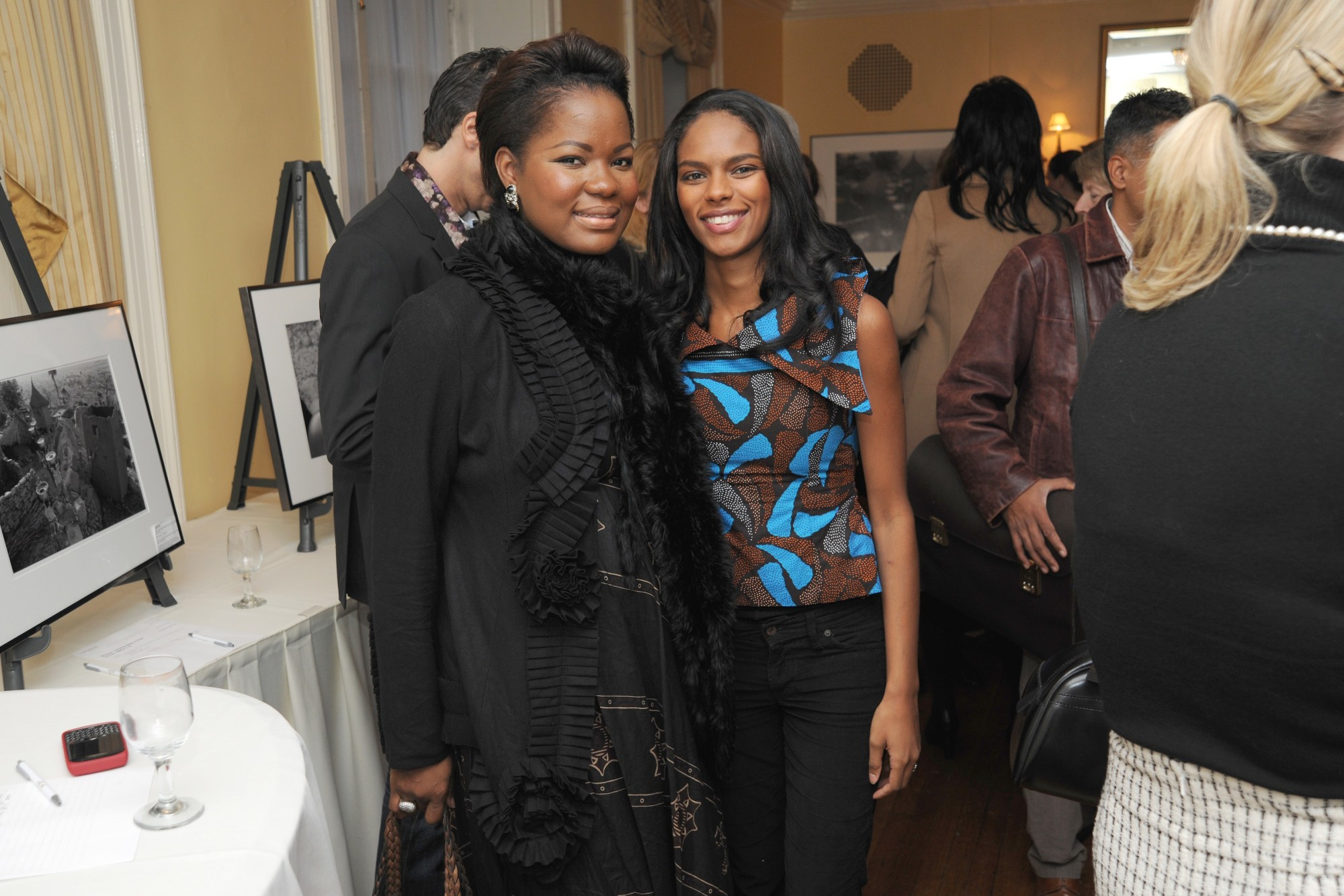 Noëlla with MacDella Cooper