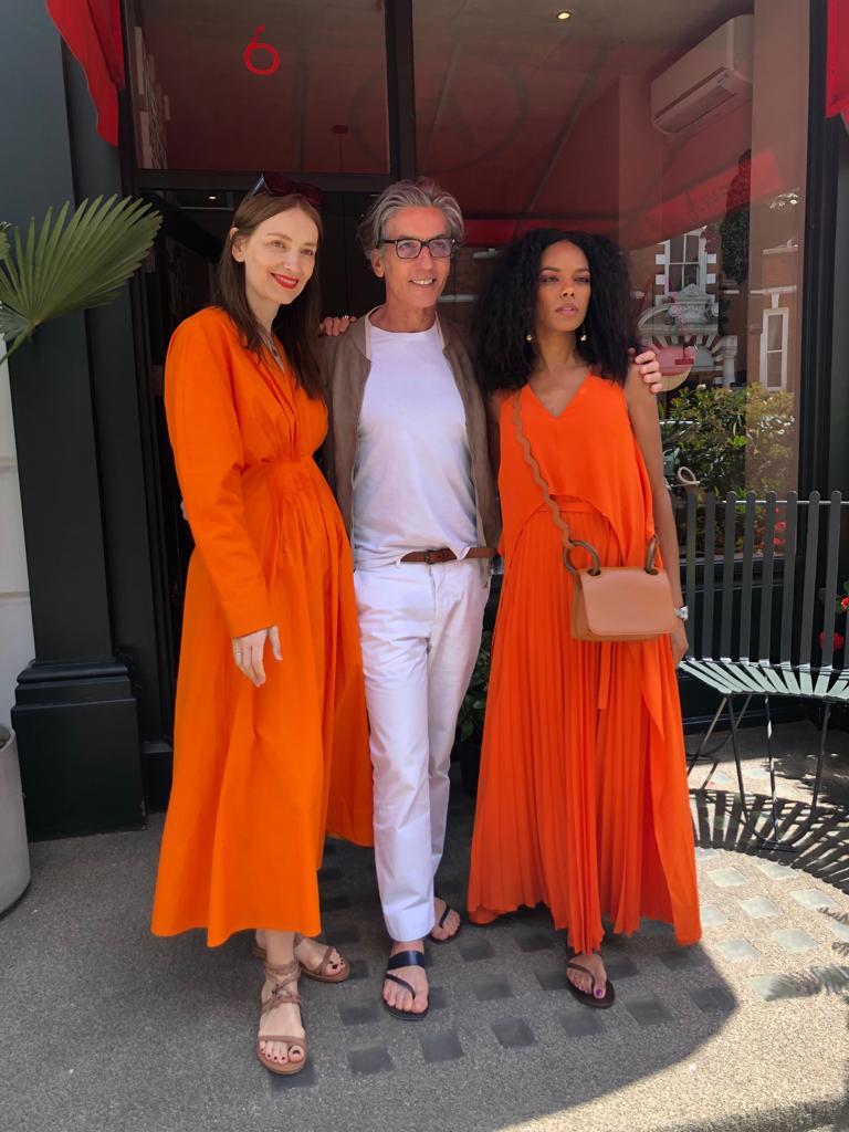 Noella with Roksanda Ilincic & Alvaro Gonzalez