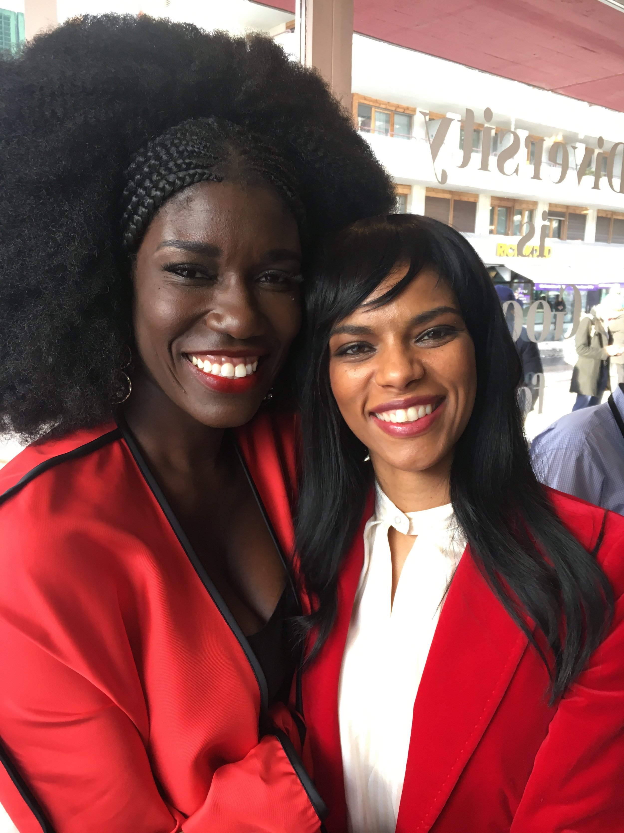 Noella with Bozoma Saint John